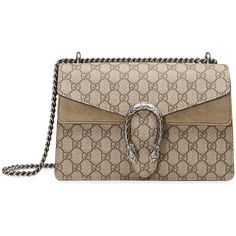 c920066b3381 Gucci Dionysus GG Supreme shoulder bag (€1.715) ❤ liked on Polyvore  featuring bags