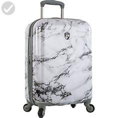 "Heys America Unisex Bianco 21"" Spinner White Luggage - Dont forget to travel (*Amazon Partner-Link)"
