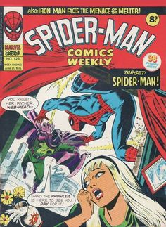 Spider-Man Comics Weekly #123, the Prowler is back