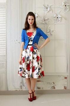 Greenhouse Grandeur Dress   Mod Retro Vintage Dresses   ModCloth.com