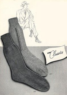 Men's Socks: A Guide for the Proper Wearing | The Art of Manliness
