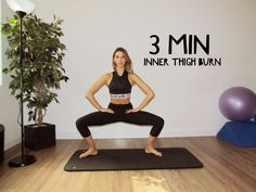 3 Minute Inner Thigh Burn