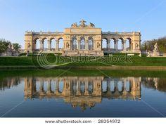 The Gloriette in the Schonbrunn Palace Garden, Vienna, Austria