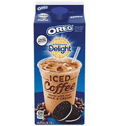 New International Delight Oreo iced coffee is out now! I'm assuming this will taste like the discontinued International Delight Hershey's Cookies 'n' Creme iced coffee which was stellar. Oreo Flavors, Cookie Flavors, How To Make Ice Coffee, Coffee Love, Oreo Wafers, International Delight Iced Coffee, Oreo Delight, Non Dairy Coffee Creamer, Coffee Nutrition