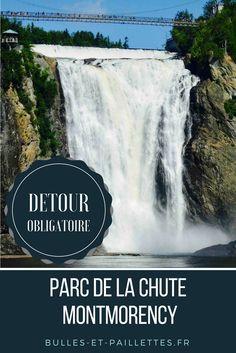 Si vous êtes de passage à Québec, le parc de la Chute Montmorency est un passage obligé ! Site naturel et cascade impressionnante, n'hésitez pas !