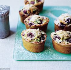 Martha with a twist: Raspberry and pistachio friands | Daily Mail Online