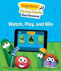 Win an iPad Mini from Fingerprint in the Silly Songs Giveaway: http://www.fingerprintplay.com/sillysongs/