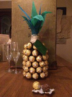 Posh Prosecco Pineapple perfect Ferrero Rocher by TheLittleBatBox