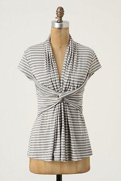 shawl collar top