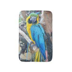 Colorful Parrot - Bath Mat