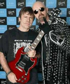 Bruce Dickinson & Rob Halford.
