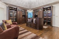 Meet with a designer who will guide you through personalizing your custom closet. Walk-ins, reach-in and luxury closet design and install. Luxury Closet, Custom Closets, Closet Designs, French Door Refrigerator, Closet Organization, Dressing Room, Your Space, Liquor Cabinet, Kitchen Appliances