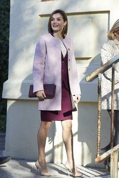 Queen Letizia at the Foundation Against Drug Addiction.