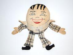 Vintage Humpty Dumpty Cloth Doll