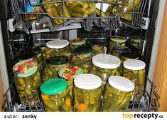 Zavařování v myčce recept - TopRecepty.cz Bar Cart, Decor, Syrup, Decoration, Decorating, Deco