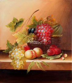 """Still Life Fruit Paintings   Still life oil painting fruit paintings 20""""x24"""" ID:9240 - paintings ..."""