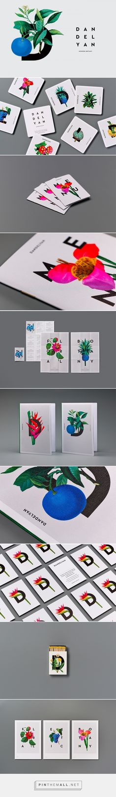 Dandelya Modern Botany Bar Branding by Tim Donaldson | Fivestar Branding Agency – Design and Branding Agency & Curated Inspiration Gallery