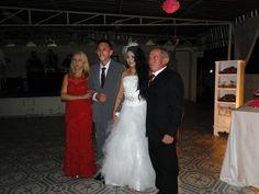 Noivos e pais do noivo