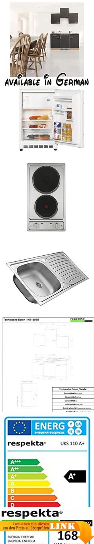 B00FIMFJ74  respekta Küchenblock 150 cm weiß grau mit APL Butcher