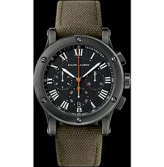 RL's 39 mm Chronograph Model - Safari RL67 -Gunmetal Finish