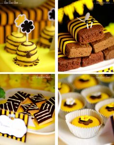 Dessert for bee party.