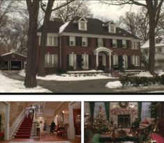 Famous movie house Home Alone