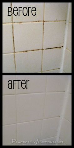 Cleaning Tip for this Week Clean Tile Grout With This Homemade Grout Cleaner Want a simple trick for cleaning grout in your shower, bath, or kitchen? This homemade grout cleaner works great and it only requires 2 ingredients: baking soda and bleach! Bathroom Cleaning Hacks, Household Cleaning Tips, Cleaning Recipes, House Cleaning Tips, Grout Cleaning, Kitchen Cleaning, Cleaning Mold, Bathroom Cleaning Tips, Household Cleaners