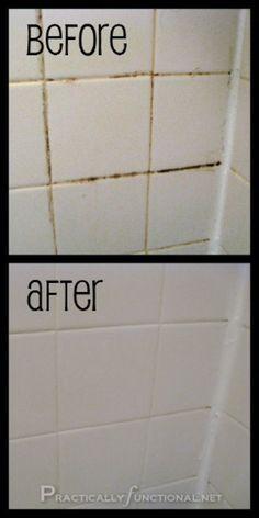 Nettoyer les joints de carrelage