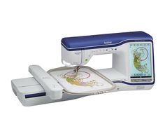 New!! THE Brother Dream Machine Innov-is XV8500D, 10 inch LCD Display, INNOVEYE 2 Technology, My Design Center, MUVIT Digital Dual Feed System, Sew Straight 2 Laser Vision Guide, V-Sonic Pen Pal, and much more!