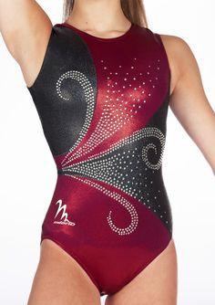 Gymnastics Uniforms, Gymnastics Competition Leotards, Gymnastics Suits, Gym Leotards, Girls Gymnastics Leotards, Kids Outfits Girls, Girl Outfits, Red Leotard, Dance Outfits