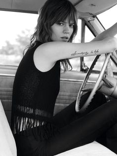 Freja Beha Erichsen for Mo