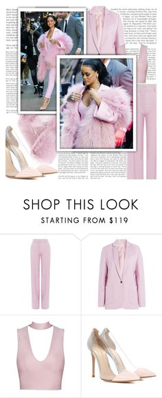 """""""rihannastylecover3"""" by scheherazadee ❤ liked on Polyvore featuring Paul & Joe, Gianvito Rossi and N.Peal"""