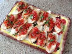 Delicious #bruschetta - easy and impressive! Click for recipe