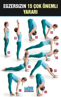 Egzersizin Çok Önemli 15 Yararı