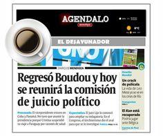 El Desayunador: se mantiene el recorte de obras y aparece Boudou http://www.agendalomza.com/index.php/component/k2/item/2217-las-tapas-3-07-14