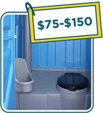 Outdoor Hand Washing Station To Go With Porta Potty Wash And Go - Bathroom rentals for weddings cost