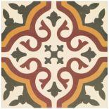 Glazed Earth Abbey Whitby Floor Tile