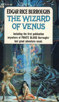 Ace Books - The Wizard of Venus - Edgar Rice Burroughs