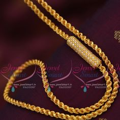 Gold jewelry Turkish - - Rose Gold jewelry For Bride - - South Indian Mangalsutra, Gold Jewelry Simple, Gold Jewellery, India Jewelry, Antique Jewellery, Gold Mangalsutra Designs, Gold Chain Design, Gold Chains, Fashion Jewelry