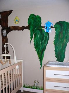 Danielle Steele: Nursery Mural (Part 2) The Painting's Done!!