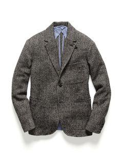 Brushed Wool Blazer by Monitaly