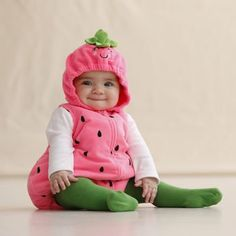 Amazon.com: Carter's Baby Halloween Costume Little Berry (3-6 Months): This is cute, I should put Aleesi in this