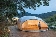 SJCC Glamping Resort in Korea by Atelier Chang