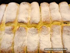 Recepty - Strana 14 z 44 - Vychytávkov Czech Recipes, Russian Recipes, Sweet Pastries, Bread And Pastries, Raw Desserts, Food 52, Desert Recipes, Amazing Cakes, Nutella