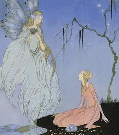 Fairy Tale Illustrations by Virginia Frances Sterrett.