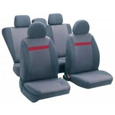Z TECH Sweet AIRBAG uyumlu oto koltuk kılıfı gri 10129