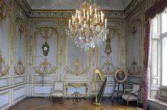 Salon de Musique, Chateau de Chantilly.