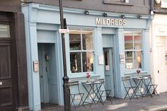 Mildreds vegetarian restaurant - Soho London LOVELY PLACE - GREAT FOOD
