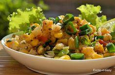 exotic-n-easy cooking: Crispy Corns with Veggies