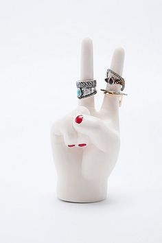 Peace Hand Ring Holder - Urban Outfitters